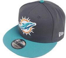New Era NFL Miami Dolphins Grafito Gorra Snapback M L 9fifty Limitado Edición