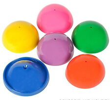 "6 HUGE 2"" PARTY POPPER JUMPING TOYS, TURN THEM INSIDE OUT AND WATCH THEM JUMP"