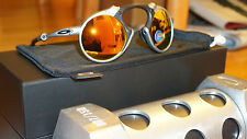 New Authentic OAKLEY MADMAN 87/150 X RAW/Fire Irid Polarized OO6019-01 Limited
