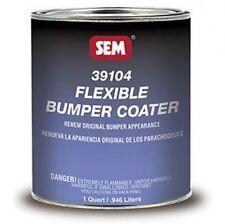 SEM 39104 Flexible Bumper Coater Black -1 Quart, Cladding & Bumper Paint