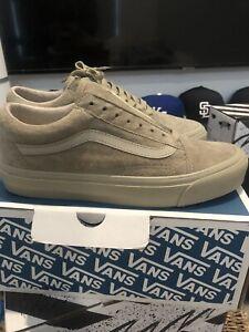 Vans Vault OG Old Skool LX Taupe Suede, Brand New, Size 7