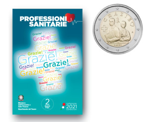 2 Euros Commémorative Italie 2021 GRAZIE - UNC