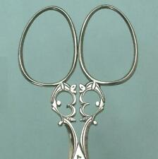 Ornate Antique Cut Steel Embroidery Scissors * French * Circa 1900