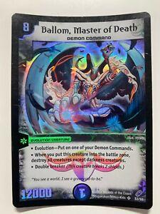 Duel Masters DM04 S3/S5 Ballom Master of Death Shadowclash of Blinding Night