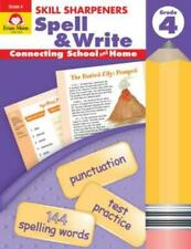 Skill Sharpeners Spell & Write Grade 4