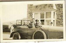 Automobile. Family 1920's. Beldam. Shell. UK Photo snapshot vintage G663