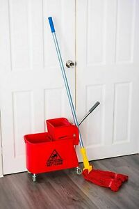 NEW KENTUCKY MOP BUCKET AND WRINGER COMMERCIAL INDUSTRIAL KITCHEN BATHROOM 20L