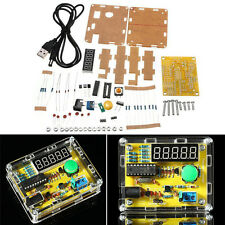 TS-905 1HZ-50MHZ Crystal Oscillator Tester Frequency Counter DIY Kits With Case