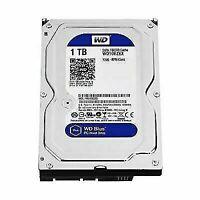 Western Digital Blue WD10EZEX-60WN4A0 3.5in 1TB 7200 RPM SATA 6 Gb/s 64 MB Cache