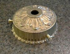 "2 1/4"" LAMP SHADE HOLDER CAST RAW BRASS FOR REPAIR REFURBISH FIXTURE  A211"