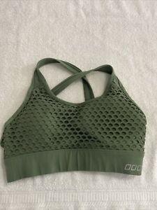 Lorna Jane Sports Bra Green S Cool Design