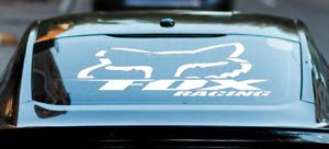Fox Racing Auto Aufkleber Head Sticker Motocross  Heckscheibenaufkleber Tuning