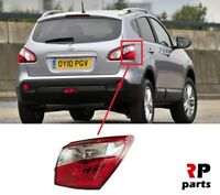 FOR NISSAN QASHQAI 10-14 NEW REAR TAIL LIGHT LAMP OUTSIDE RIGHT O/S LHD=RHD