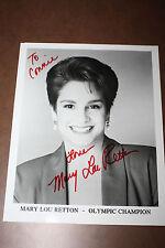 Mary Lou Retton Autographed/Signed 8X10 Photo USA Olympic Gymnastics