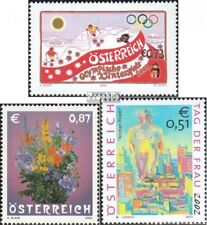 Austria 2369,2370,2371 (complete issue) used 2002 special stamp
