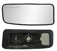 VW Crafter Wing Mirror Lower Small Glass PUSH Left Wide Blind Spot N/S