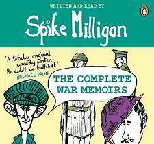 SPIKE MILLIGAN THE COMPLETE WAR MEMORIES AUDIO CD BOXSET NEW/SEALED