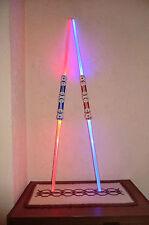 2  Doppel- Leuchtschwerter ca. 110 cm Laser Schwert Star Wars NEU & OVP