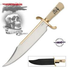 "Gil Hibben Expendables 20"" Bowie Knife with Sheath Collectible"