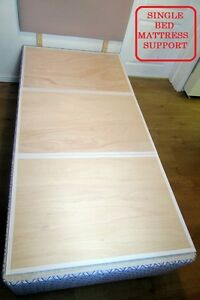 SINGLE BED BOARD-UNDER MATTRESS SUPPORT 9mm PLYWOOD Board Sagging Collapsed