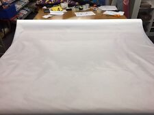 5 METRES 4 OZ WATERPROOF WHITE FABRIC MATERIAL TENT BAG COVER FREE POST