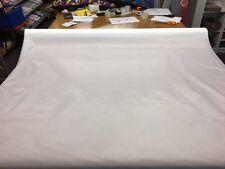 5 METRES 4 OZ WATERPROOF WHITE FABRIC MATERIAL TENT BAG COVER FREE POST