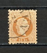 SSAU 054 AUSTRIA 1867 - 80 USED  PERF 9 1/2