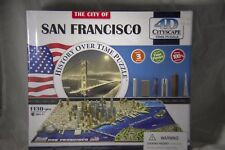 4D CITY OF San Francisco 1130+ Piece Time Puzzle