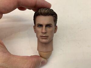 Hot Toys Avengers End Game Captain America 1/6 Figure Head Sculpt
