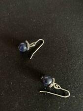 White stuff earrings