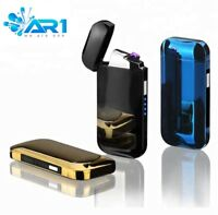 USB Dual AR1ARC Lighter Rechargeable Windproof Classy chic cheap christmas gift