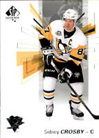 2016-17 SP Authentic Hockey #87 Sidney Crosby Pittsburgh Penguins
