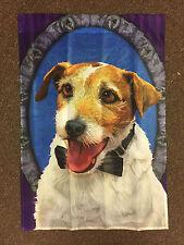 Decorative House Flag - Jack Rusell Terrier