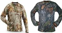 Mens Camo Jungle Forest Real Tree Long Sleeved T Shirt