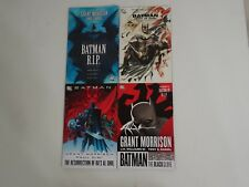 Lot of 4 CD Comics Batman Comics Books Ra's Al Ghul RIP Black Glove Heart Hush