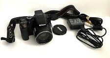 NICE Nikon COOLPIX P100 10.3MP Digital Camera+Battery-Case-Charger FREE SHIP!!