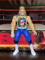 "WWF - WWE Dude Love Mick Foley Wrestling Action Figure 6"" 1998 Jakks Bone Crunch"