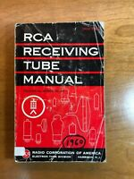 RCA Receiving Tube Manual RC-20 (1960 Edition)