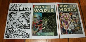 Out of this World 16 25 28 Ditko Snyder Fanzine Reprint Unpublished Flash Gordon
