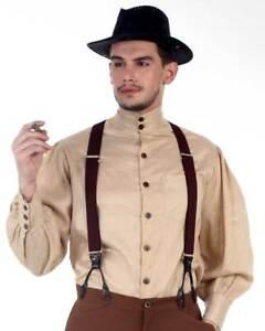 Men's Seigneur Shirt Steampunk, finest fabric, handmade, very nice!!