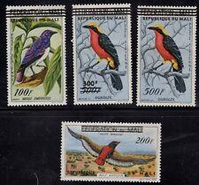 Mali Birds Scott C5 - C8 Mint Hinged
