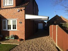 carport canopy cantilever fully fitted by pro port canopies ltd. £800