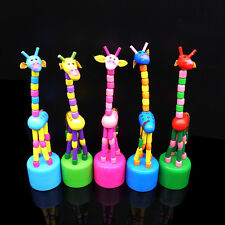 Hot Children Learning Q Toys Wooden Animal Giraffe Baby Kids Developmental Toys