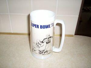 SUPER BOWL THERMO MUG from Super Bowls I thru V