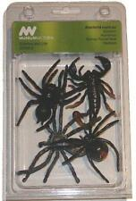 NEW Scorpion Huntsman Red-Back Funnel-Web Spider Model Collection - Set of 4 7cm