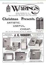 1902 Waring's Useful Cheap Christmas Presents Jc Vickery