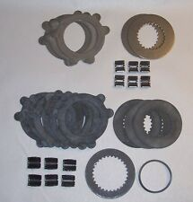 NEW GM 10.5 10 1/2 14 12 BOLT EATON GOV LOC POSI G80 CLUTCH PLATE DISC SET