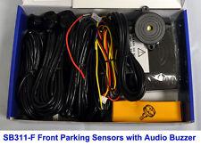 CISBO Front Forward Parking Sensor Aid Kit 4 Sensors Audio Buzzer Alarm SB373