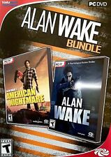 NEW Alan Wake Bundle - Includes American Nightmare - PC Game - Sealed