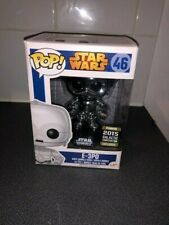 FUNKO POP! E-3PO 2015 STAR WARS  #46 Galactic Convention + Pop Protector